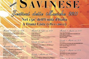 Festival Musicale Savinese 2011